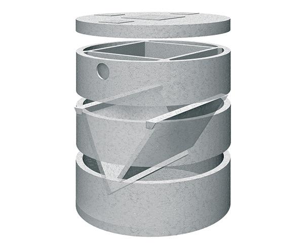 Fosse biologiche in cemento for Fosse settiche in cemento