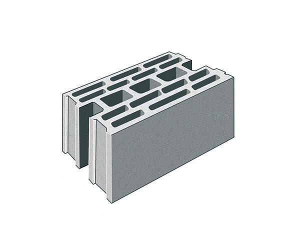 blocco in calcestruzzo tipo D Image