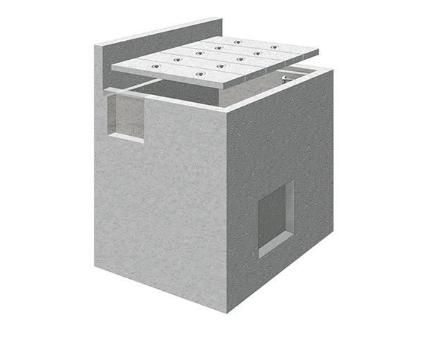 pozzetto di linea per quadri in campo alta velocità Image