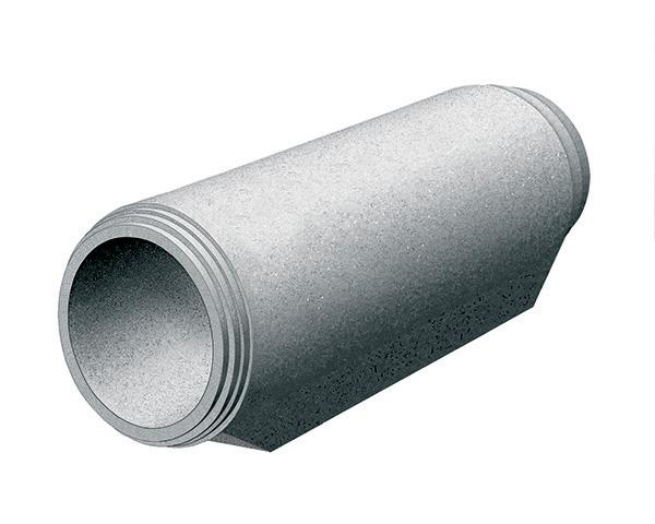tubo armato maschio-maschio a base piana