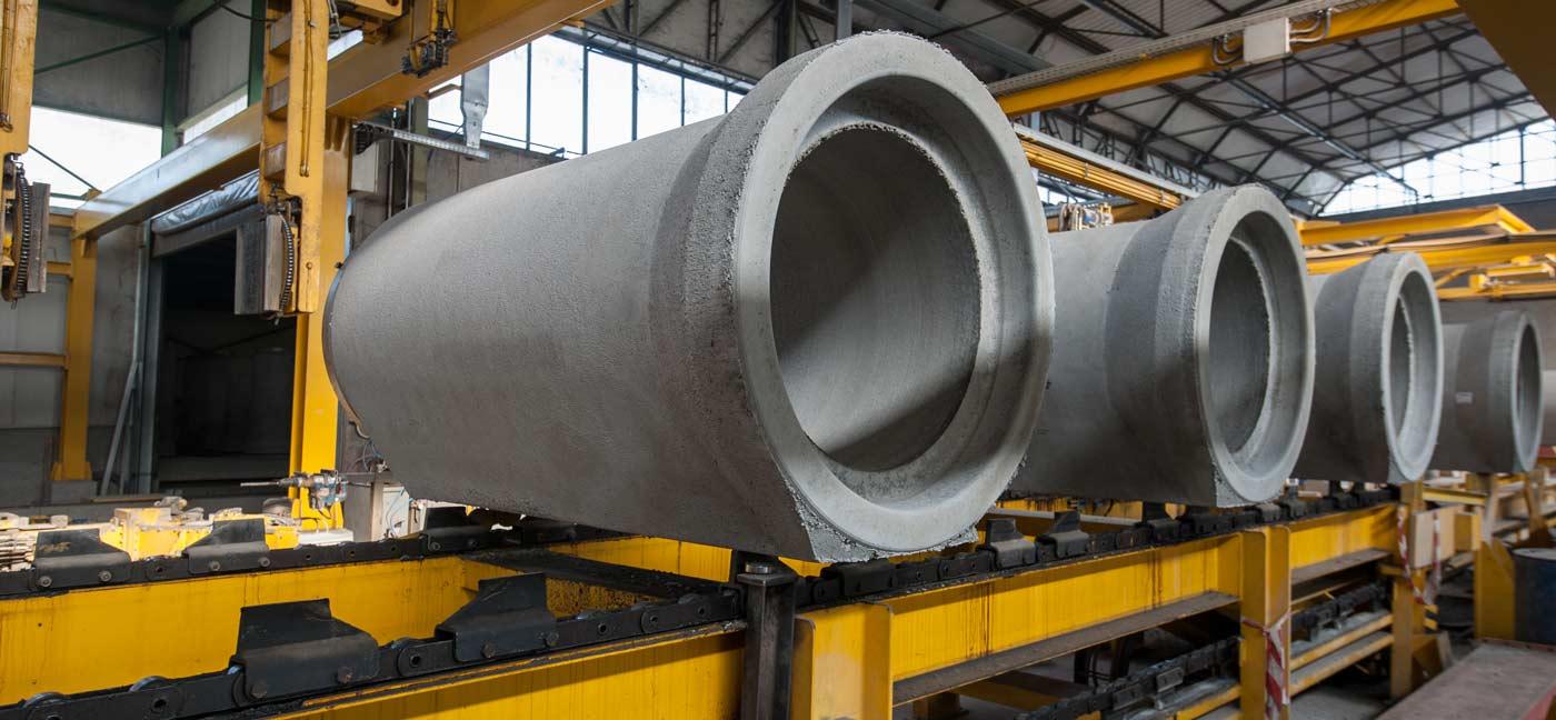 produzione tubi in cemento